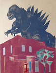 Godzilla at the Jean Cocteau Theater